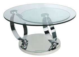 Magic rotating coffee table